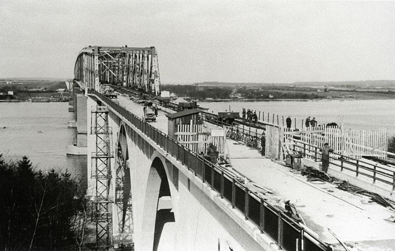 Broen før indvielsen
