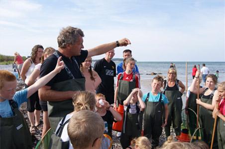 Sommeraktiviteter 2017 for børn. Under overfladen ved den Gamle Lillebæltsbro
