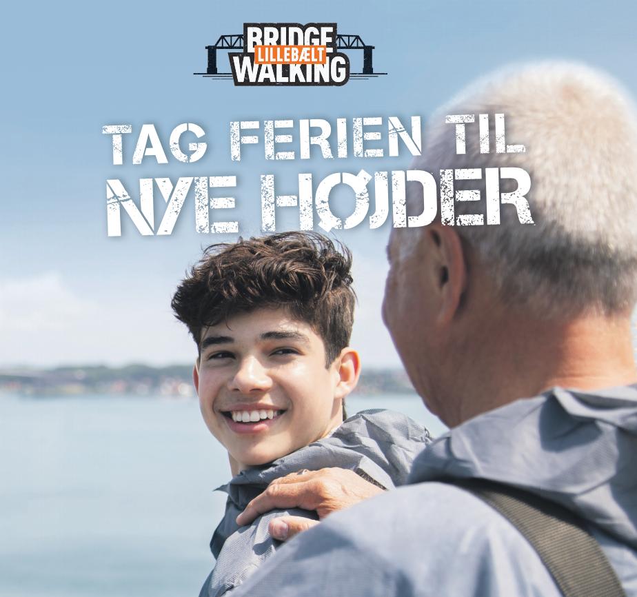 Tag ferien til nye højder med Bridgewalking